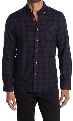 Report Collection Plaid Regular Fit Flannel Shirt