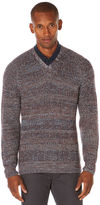 Perry Ellis Multicolor V-Neck Sweater