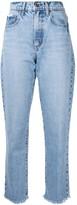 Nobody Denim Hutton straight-leg jeans
