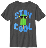 Fifth Sun Charcoal Heather 'Stay Cool' Tee - Boys