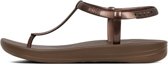 FitFlop iQUSHION Splash Pearlised Back-Strap Sandals