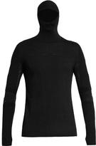 Y-3 Sport Technical-knit hooded sweatshirt