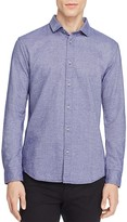 Scotch & Soda Textured Cotton Slim Fit Button-Down Shirt