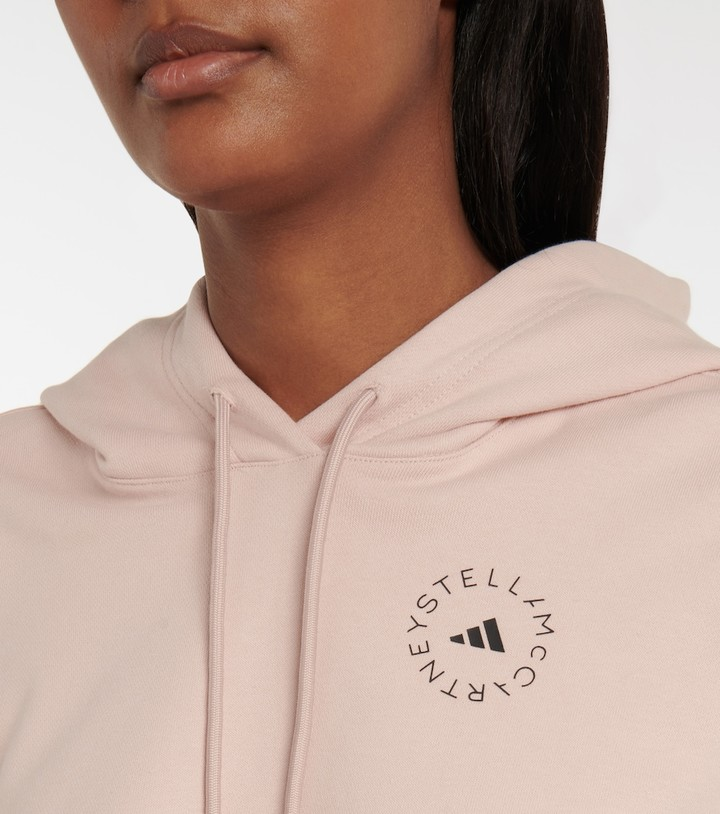 Thumbnail for your product : adidas by Stella McCartney Futureplayground cotton jersey hoodie