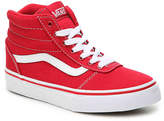 Vans Ward Toddler & Youth High-Top Sneaker - Boy's