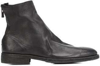 Guidi Rear Zipped Ankle Boots