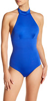 Onia Heather High Neck One-Piece Swimsuit