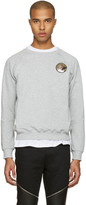 Saint Laurent Grey 'Never Say Never' Pullover