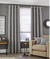 Accessorize Ink Vermont Eyelet Curtain Set