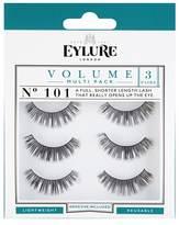 Eylure Volume False Lashes 101 Multi Pack Triple Pack