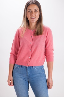 Repeat Cashmere - Pink Cardigan - 10