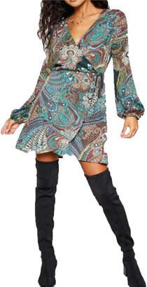 Sadie & Sage Ariel Wrap Dress
