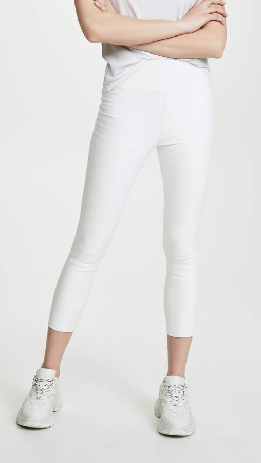 Sprwmn High Waist Crop Leggings