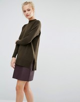 Warehouse Boxy Side Split Sweater