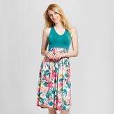 Gilligan & O Women's Pajama Seamless Gown Total Comfort - Gilligan & O'Malley Tropical Print