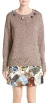 Christopher Kane Women's Embellished Sweater