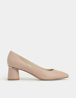 Charles & Keith Cylindrical Heel Pumps