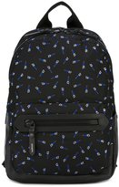Lanvin saw print backpack