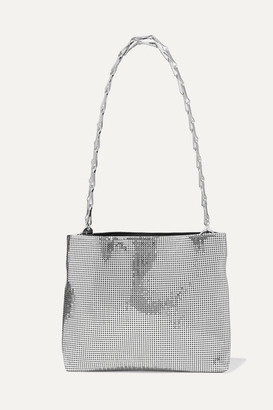 Paco Rabanne Pixel 1960 Chainmail Shoulder Bag - Silver