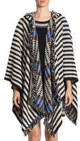 Missoni Wool Striped Poncho