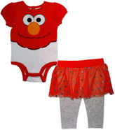 Sesame Street 2-pc. Bodysuit Set-Baby Girls