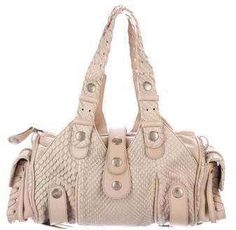 Chloé Snakeskin Silverado Bag