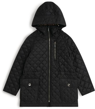 Burberry Kids Quilted Hooded Coat (3-12 Years)