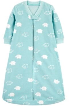 Carter's Baby Boys or Girls Cloud-Print Fleece Sleep Bag