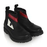 Fendi FendiBoys Black Leather Boots