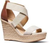 MICHAEL Michael Kors Prue Crisscross Wedge Espadrille Sandals