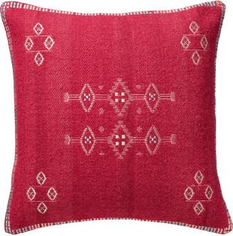 OKA Cayuga Cushion Cover, Large - Pink