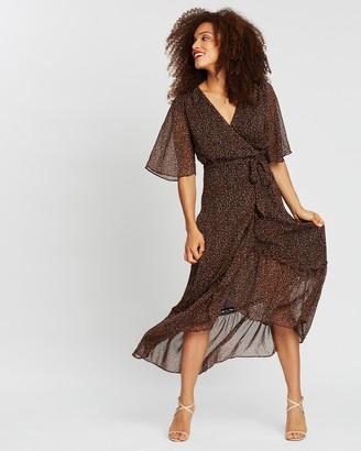 Forcast Bella Wrap Dress