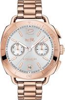 Coach Tatum two-tone steel chronograph watch