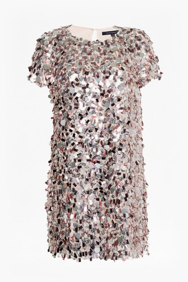 French Connection Aimee Sequin Tunic Dress