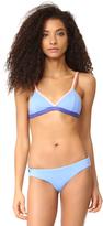 Maaji Lavender Cocktail Triangle Bikini Top