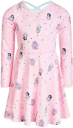Disney Toddler Girls Starburst Princesses Skater Dress