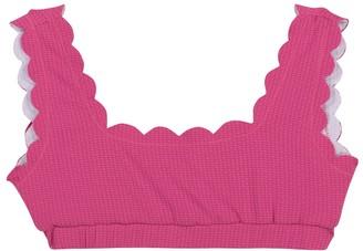 Marysia Bumby Palm Springs reversible bikini top