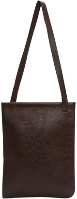 Lemaire Brown Leather Tote