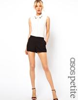 ASOS PETITE Tailored Shorts
