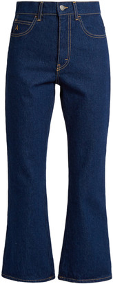 ATTICO Navy Cotton Jeans