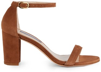 Stuart Weitzman The Nearly Nude Leather Sandals