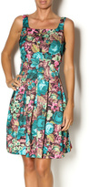Darling Jade Floral Dress