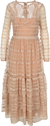 RED Valentino Open-back Long Dress