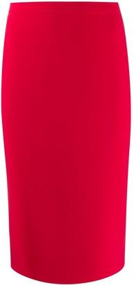Loulou Midi Pencil Skirt