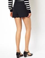 Asos Shorts with Scallop Hem