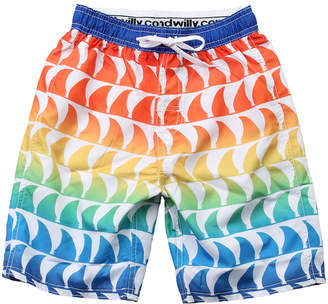 Wes And Willy Wes Willy Shark Fins Swim Trunk