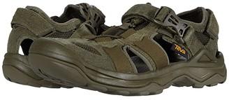 Teva Omnium Suede (Dark Olive) Men's Shoes