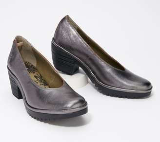 Fly London Leather Pumps - Walo