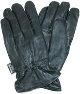 Dorfman Pacific Mens Leather Thinsulate Lined Water Repellent Winter Gloves