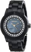 Sprout Women's ST/6506JMCL Corn Resin Swarovski Elements Bracelet Watch